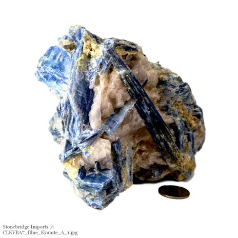 """Blue Kyanite Cluster """"A Quality"""" Size #7 - 700g to 1.1kg"""