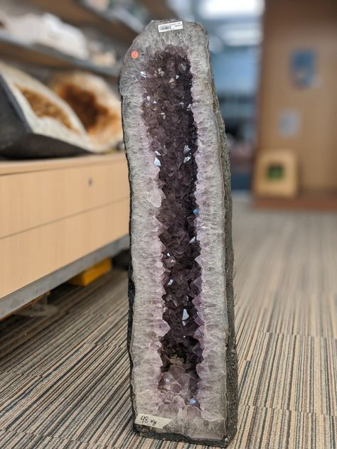 "Amethyst Cathedral - Unique #95 - 29 1/4"" tall"