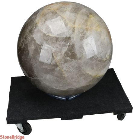 Smoky Quartz Giant Sphere - #1