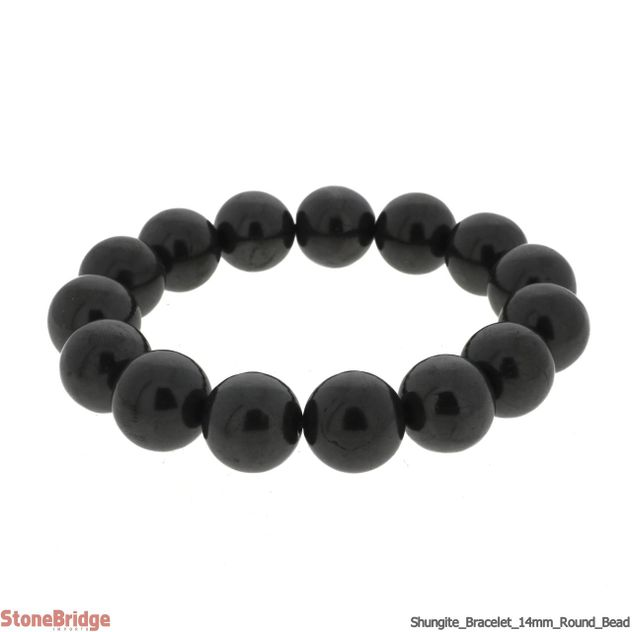Shungite 14mm Bracelet