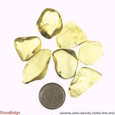 Labradorite Golden (Bytownite) Tumbled Stone - Small