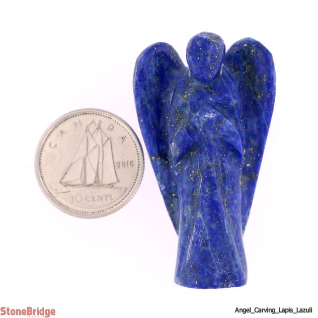 "Lapis Lazuli Angel - Pocket Size 2 - 1 1/2"" to 2"""
