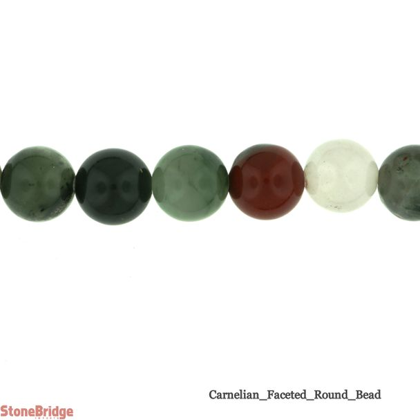 African Bloodstone - Round Bead
