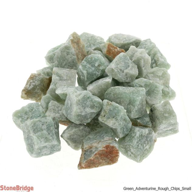 Green Aventurine Chips - 500g - SM