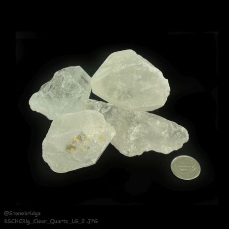 Clear Quartz Chips 500g bag - Large