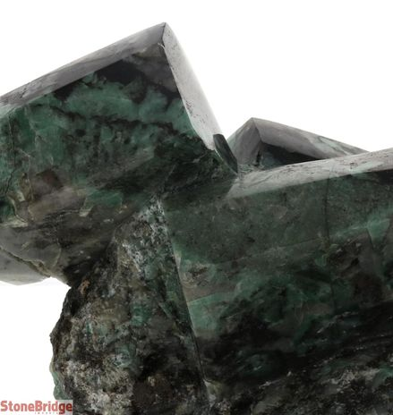 Polished Emerald on Matrix - U8