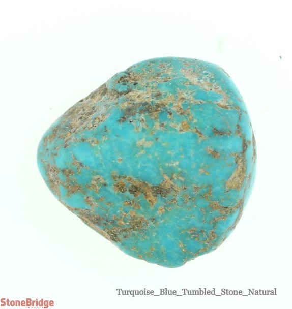 Turquoise Natural Blue Tumbled Stone