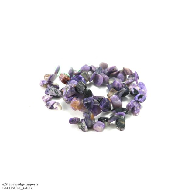 "Sugilite - Chips Bead 16"" strand - 3 to 8mm"