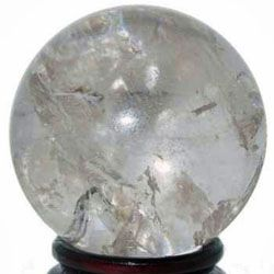 "Clear Quartz Crystal Sphere B - SM4 - 2 3/8"" to 2 1/2"" (SPCRBsm4)"