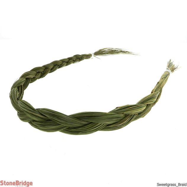 "Sweetgrass Braid - Local, Organic - 18"" to 24"""