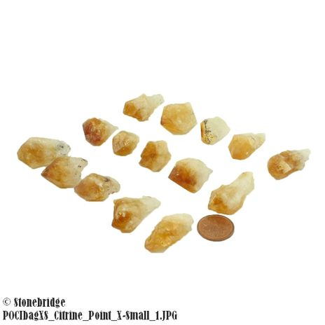 Citrine Point - X-Small (20 to 30 pieces)