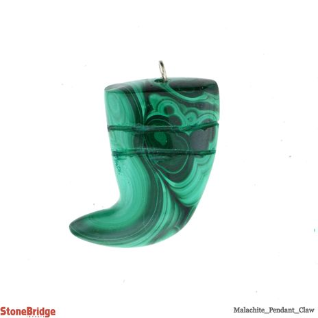 Malachite Claw - Pendant