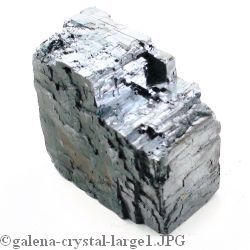 Galena Crystals in Display Box
