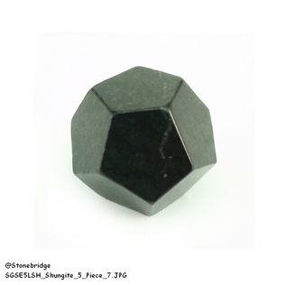 "Shungite 1"" Platonic Solids 5 pieces Set"
