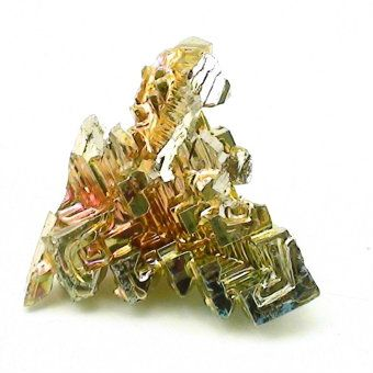 """Bismuth Crystal (lab grown) Size #1 - 1/2"""" to 1"""""""