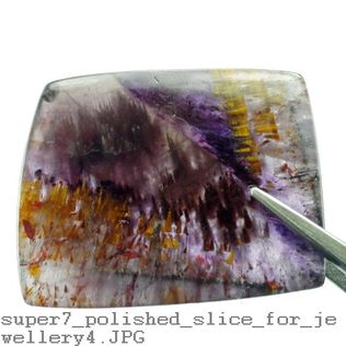 Super 7 Polished Slice For Jewellery - X-Large 32mm to 51mm