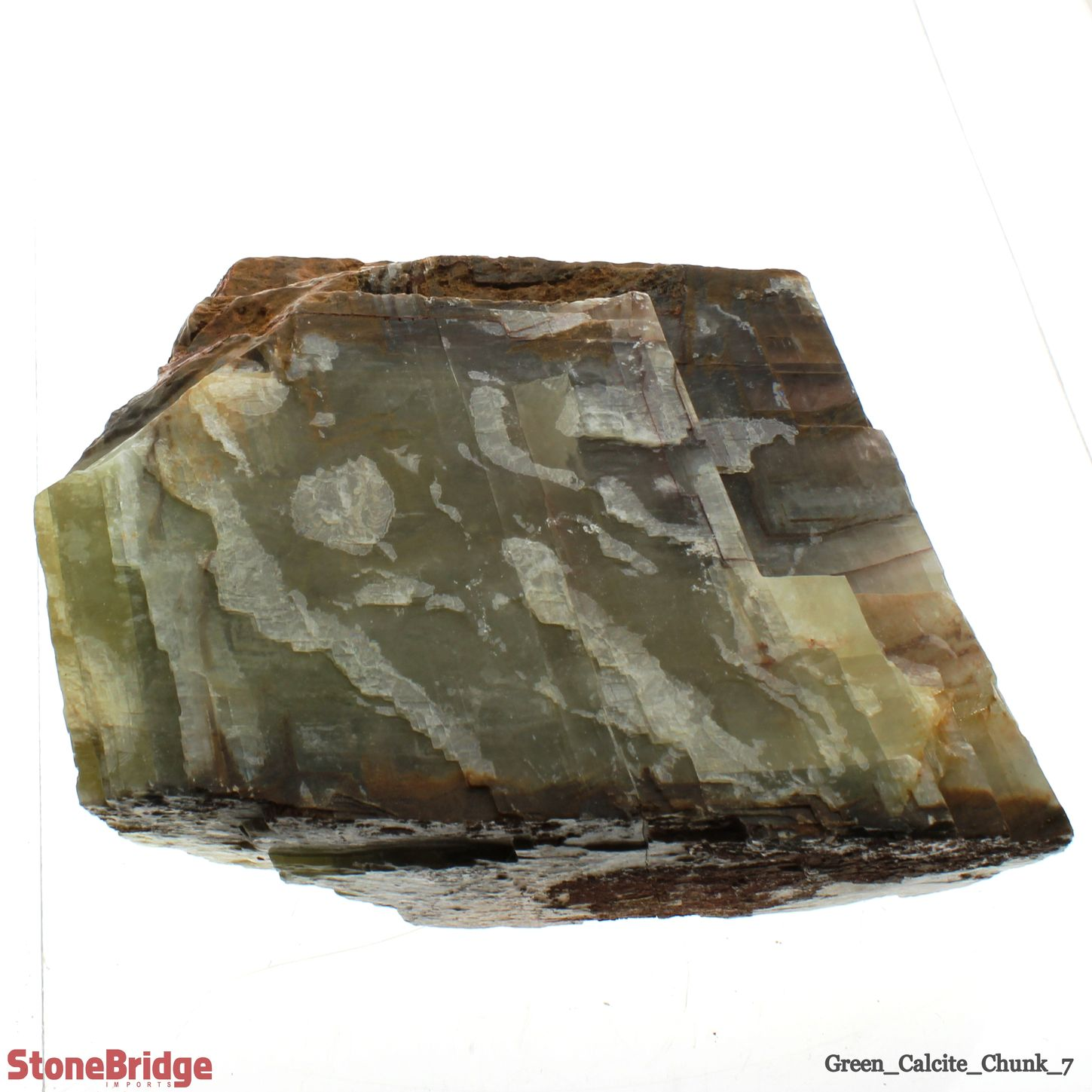 Green Calcite Chunk - Size #7 - 10kg to 15kg