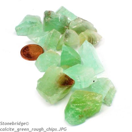 Calcite Green Chips