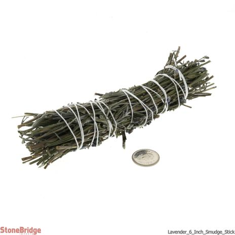 "Lavender 6"" Smudge stick - Local, Organic"