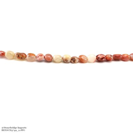 "Carnelian Type #2 - Nugget Bead 15"" strand - 8 to 15mm"