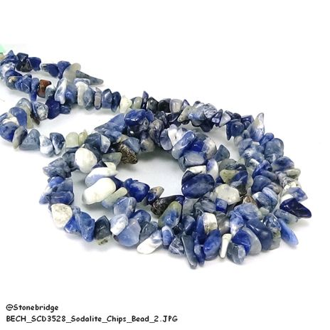 Sodalite - Chips Bead