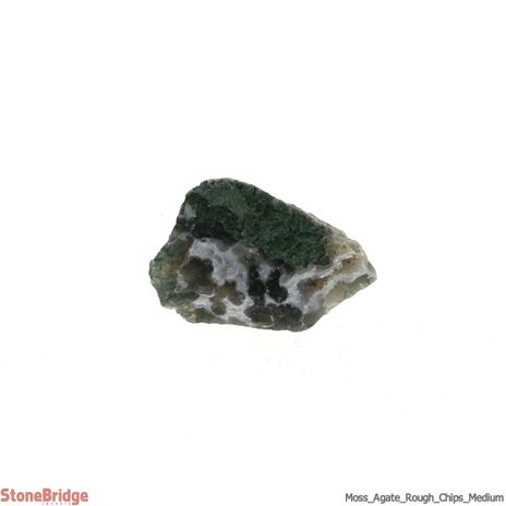 Moss Agate Chips - 500g - MD