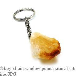 Citrine Point Keychain