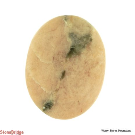 Cream Moonstone Worry Stone