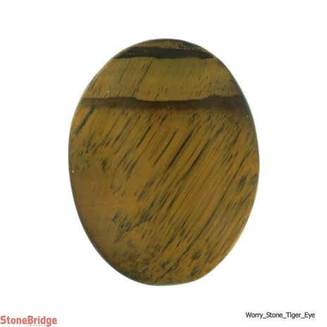 Tiger's Eye Worry Stone