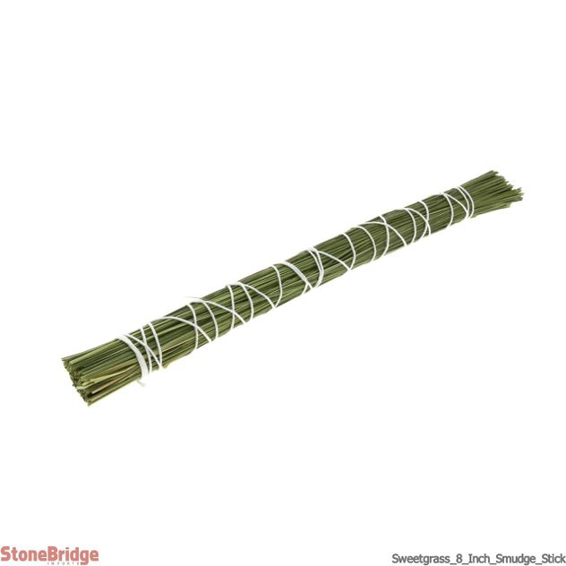 "Sweetgrass 8"" Smudge stick - Local, Organic"