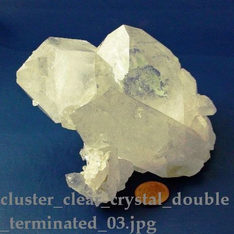 Crystal Cluster Double Terminated 03