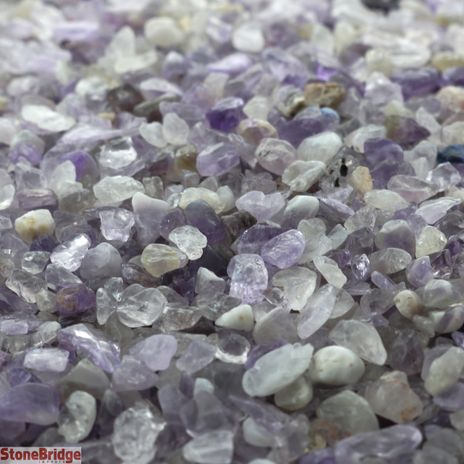 "Crushed Amethyst Chips ""Mini"" 500g Bag"