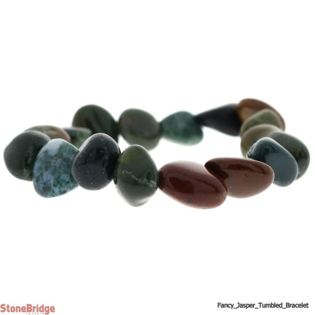 Fancy Jasper tumbled Bracelet