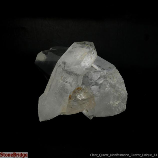 Clear Quartz Manifestation Cluster Unique #13