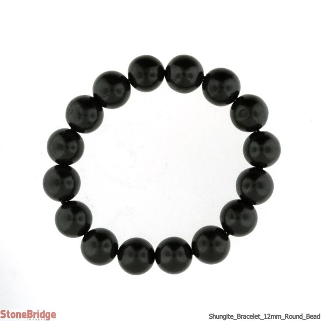 Shungite 12mm Bracelet