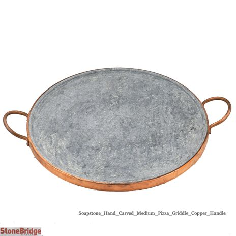 Soapstone Pizza Plate Medium