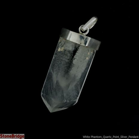 White Phantom Quartz Point