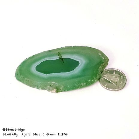 """Agate Slice Thin #00 - 1 1/4"""" to 2"""""""