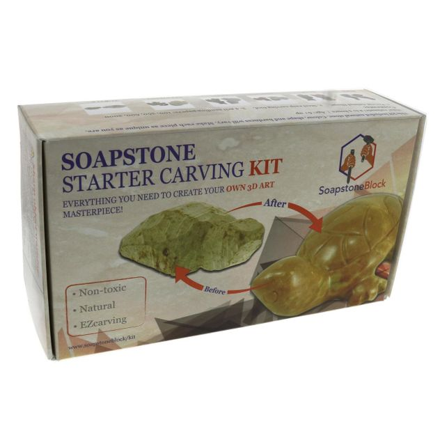 Soapstone Carving Kit - Bird